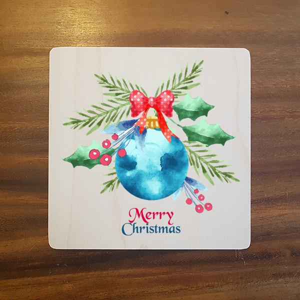 card-001 크리스마스카드 특별한 우드카드