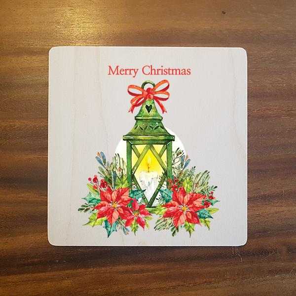 card-005 크리스마스카드 특별한 우드카드