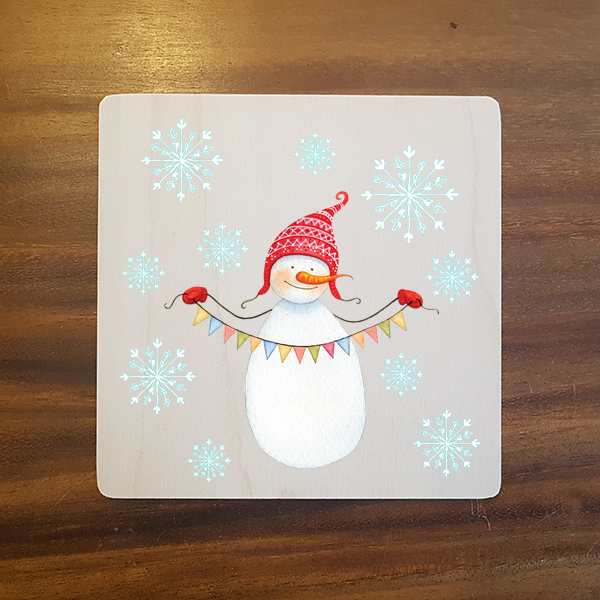 card-012 크리스마스카드 특별한 우드카드