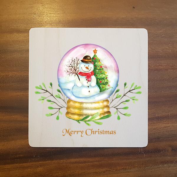 card-013 크리스마스카드 특별한 우드카드